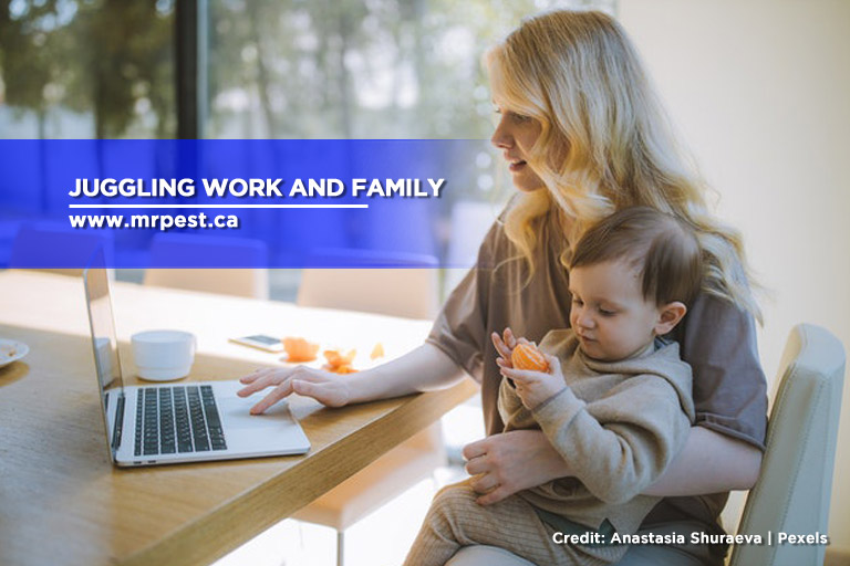 Juggling work and family